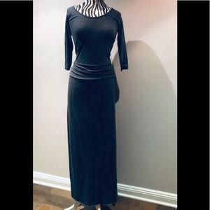 Figure flattering organic cotton dress
